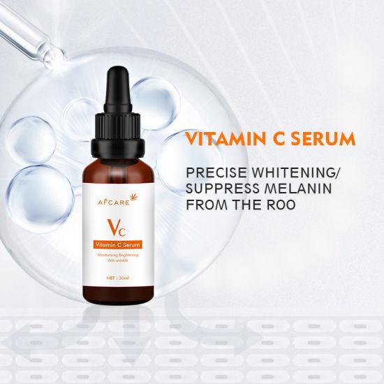 30ml Vitamin C Stock Solution 20%E Hyaluronic Acid Professional Facial Serum Anti-Aging Anti-Wrinkle Vc Face Serum