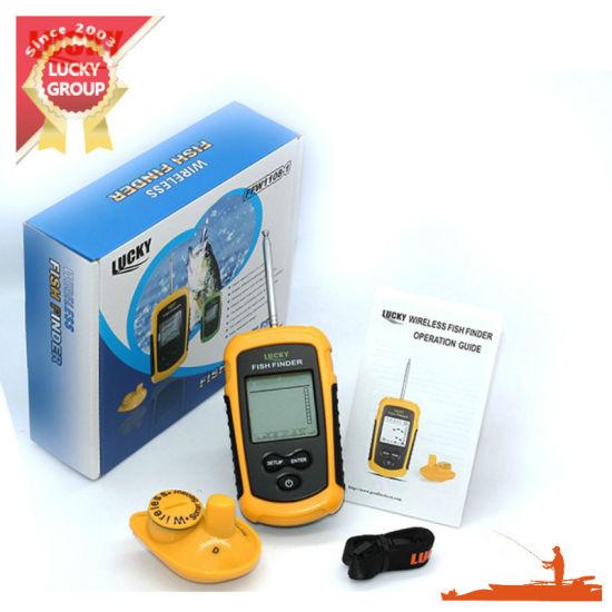 FF-1108-1 Wired 100m Digital Sonar Transducer Fishfinder Alarm