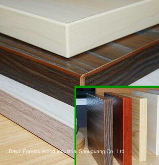 Melamine Board Panel Furniture PVC Tape Sealed