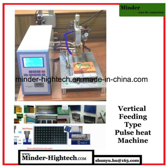 Pulse Heat Hot Bar Soldering Machine Transverse Feeding Type pictures & photos