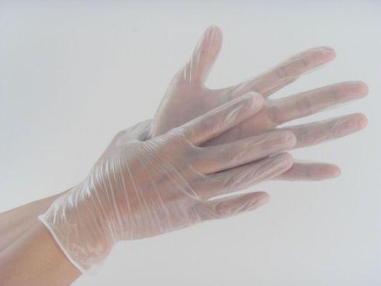 Disposable Powder Free PE/PVC/Vinyl Glove for Medical Exam Latex Free