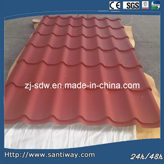 Excellent Tile Effect Metal Roofing Sheet for Promotion pictures & photos