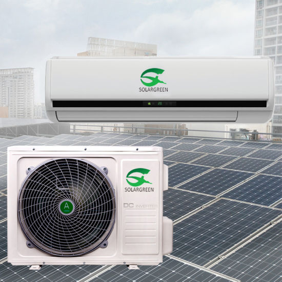 18000BTU DC48V Double Row Condensor 100% Solar A/C pictures & photos