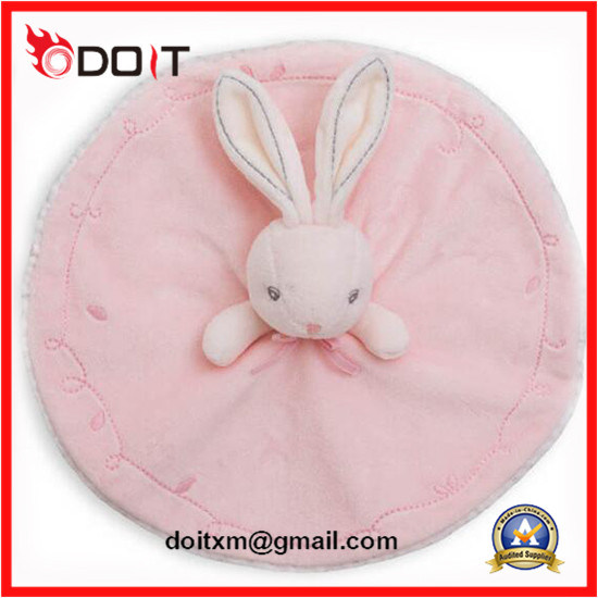 Ce Safety Infant Plush Soft Baby Towel Bunny Comforter Toy
