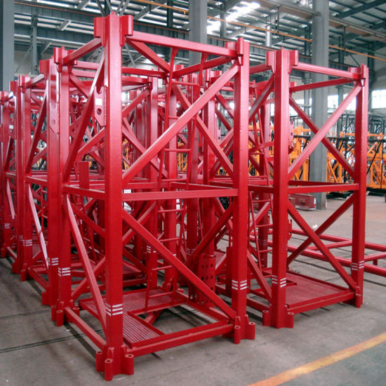 Topless 5510 Model Tower Crane with SGS pictures & photos