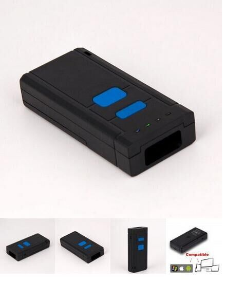 Portable Bluetooth CCD Barcode Scanner, Mini Wireless Barcode Reader to  Read Smartphone, iPhone, PC, Mj2850