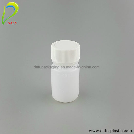 HDPE Small Vials 10ml Medical Packaging Plastic Bottle