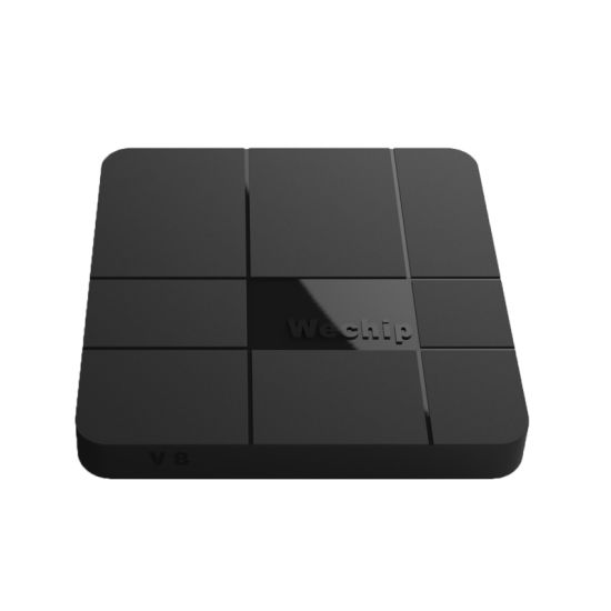 2GB 16GB Android 7.1 TV Box Amlogic S905W Wechip V8 Smart TV Box pictures & photos