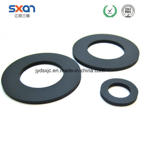 China FKM Heat Resistant Oil Seal Rubber O-Ring Flat Washers/Gaskets ...