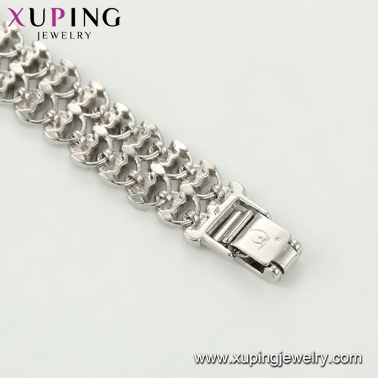 75524 Fashion Jewelry Charm Rhodium Plated Elegant Women Bracelet pictures & photos