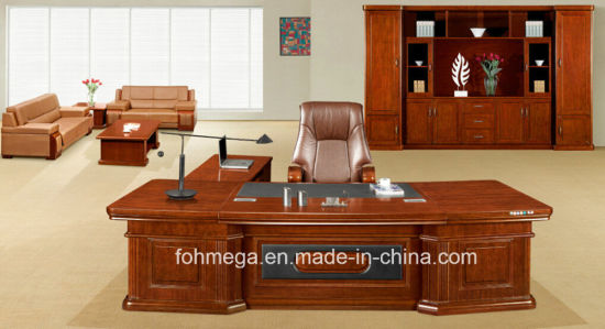 Wooden Office Furniture Big Boss Working Desk pictures & photos
