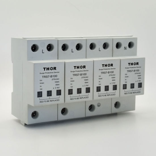 Transient Voltage Surge Suppression 80ka Protection Lightning Surge Protector for Ce pictures & photos