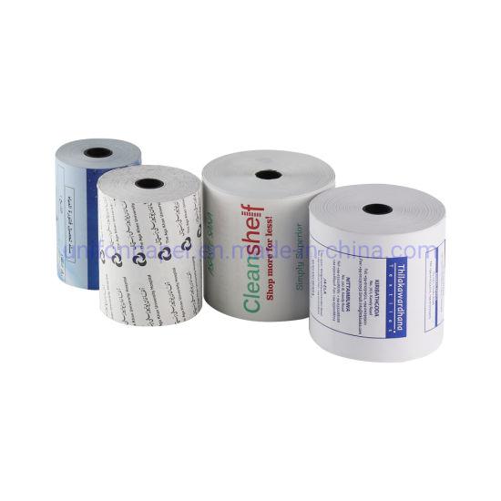 2 1/4 Re-Printing Waterproof Thermal Paper Roll Termo Print Cash Register Paper