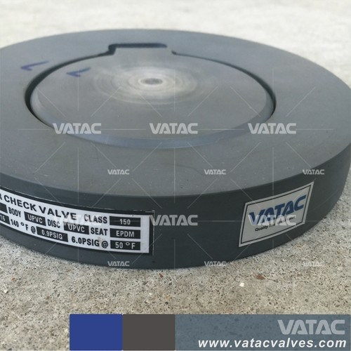 Vatac Wafer Single Plate Cast Steel Check Valve pictures & photos