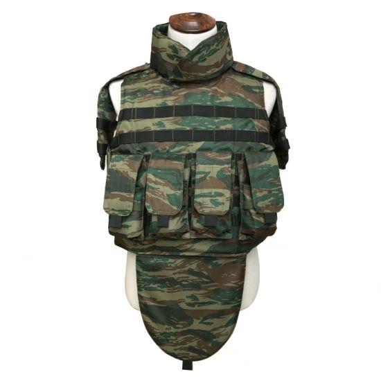 Full Body Armor with Shoulder Groin Protector Bulletproof Vest