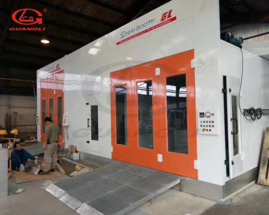 2019 Ce Approved Outdoor Auto Body Spray Booth for Painting Cars