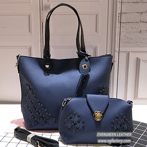 New Design Handbag Lady Shoulder Bags Women Big Size Shopping Handbag with  a Small Size Purse Sh397 749739569