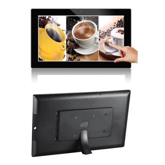 "LCD POS Video Player 21.5"" Digital Photo Album with Motion Sensor pictures & photos"