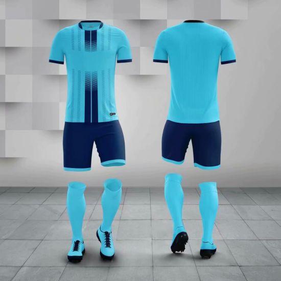 2020 Fashion Different Color Football Kit Men Soccer Wear