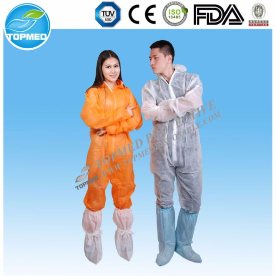 Wholesale Reflective Tapes Coveralls One Time Use pictures & photos