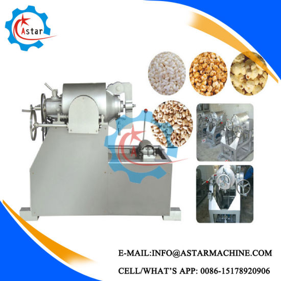 60-80kg/H Puffed Corn Snack Making Machine pictures & photos