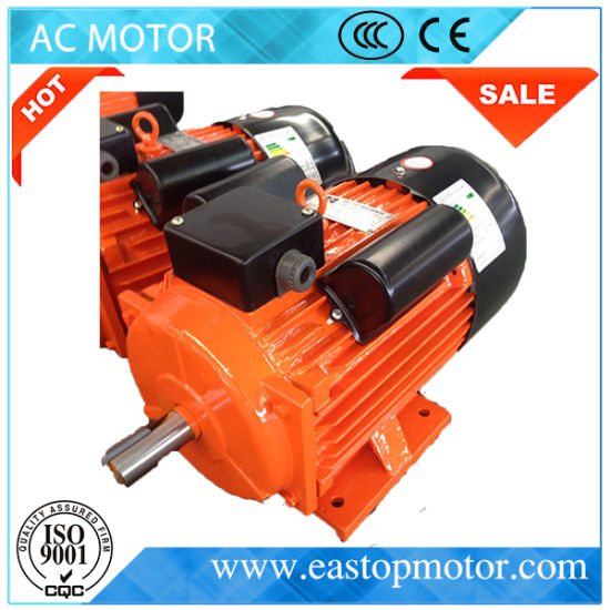Yl Single Phase 0.25HP-15HP Electric Motor with Iron Body pictures & photos