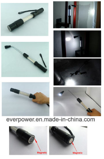 Telescopic Magnet Pick up Tool LED Work Light (WL-1033) pictures & photos