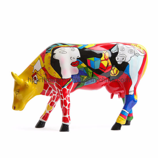 High-End Creative Hand Painting Animal Resin Ornaments Customization Decoration