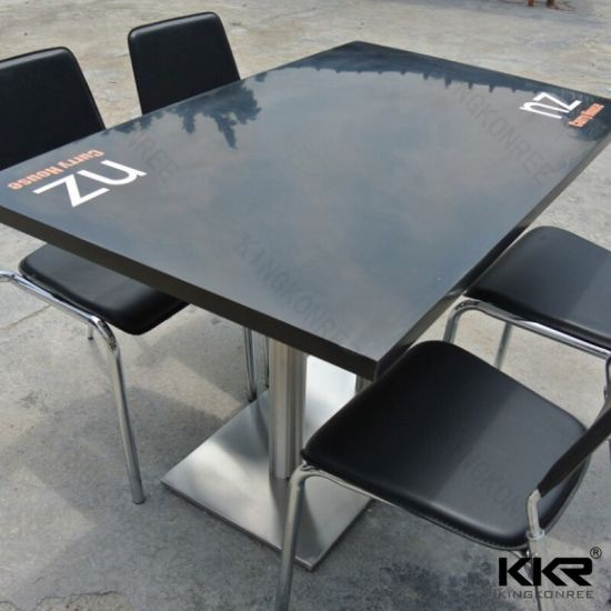 China Solid Surface Restaurant Square Marble Table Tops China - Restaurant marble table tops