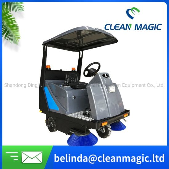 Clean Magic Sterilizer Driving Battery Auto Floor Sweeper Disinfection Machine Floor Cleaning Equipment for Airport/Hotel/Hospital/Factory/Warehouse/School