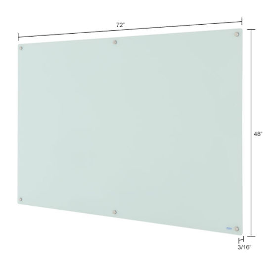 Factory Price Wholesale School Office Use Tempered Glass Writing Board, Glass Magnetic Whiteboard