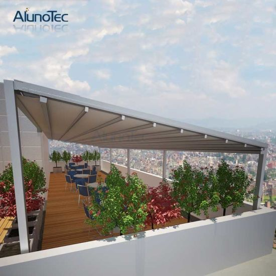 China Commercial Retractable Patio Awnings Diy Retractable Awning