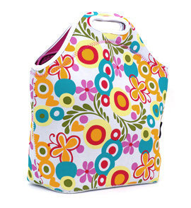 Promotional Fitness Neoprene Insulated Picnic Thermal Lunch Cooler Bag