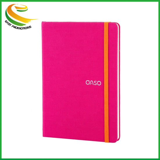 Oude Full Color Promotional Custom Logo Leather Notebook Wholesale Office Stationery Writing Plain Printed Custom Notebook