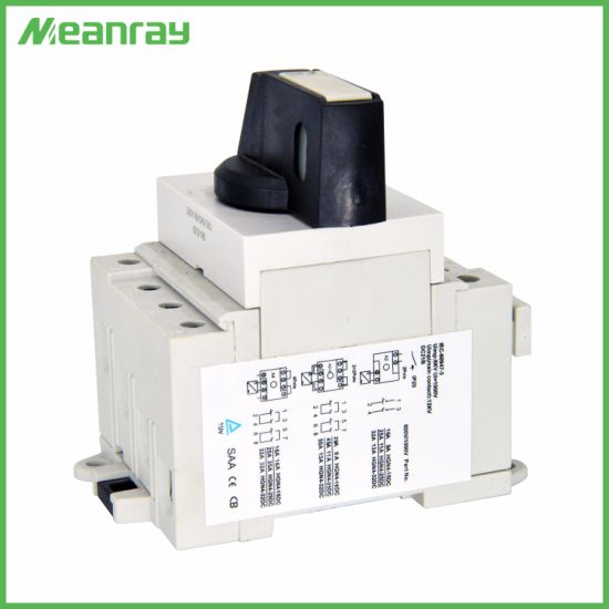 40A Isolator Switch Main Switch 1000V DC for Solar System
