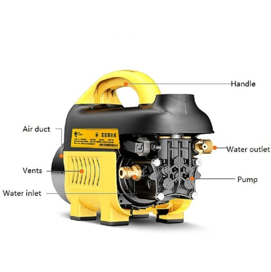 700W Induction Motor Portable Car Washer