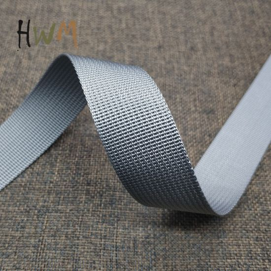 Microgroove Small Wave Weave Polyester Nylon Webbing for Backpack Bag Accessories pictures & photos