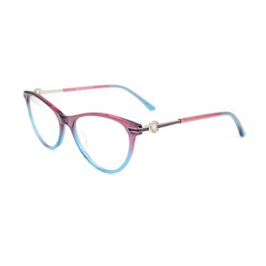 0907b97894f9 2019 Wholesale Custom Top Sale Modern Style Acetate Optical Eyeglasses  Frames for Women