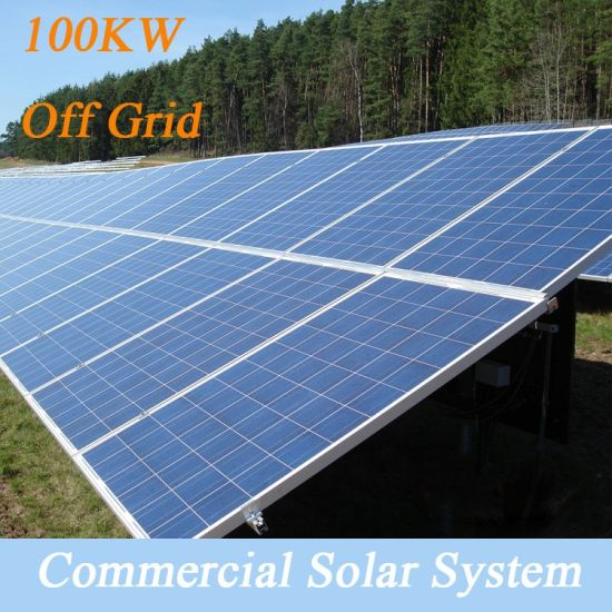 china be easy to assemble 100kw off grid solar power system, solar