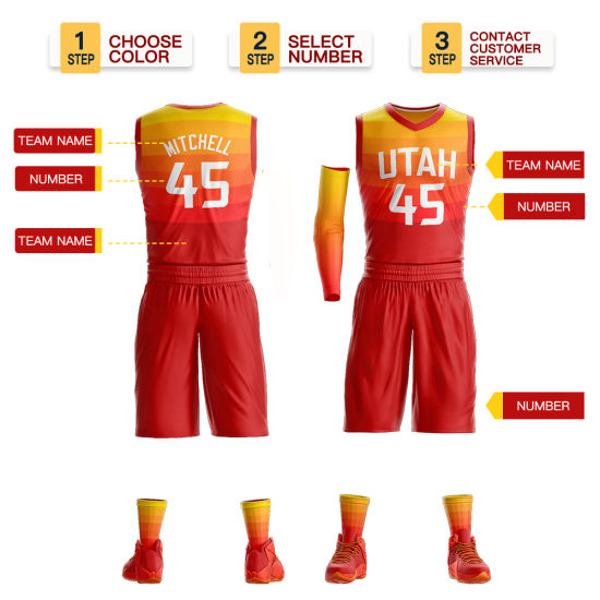 best website 4016b 4cb27 China Utah Jazz #45 Donovan Mitchell Swingman Basketball ...