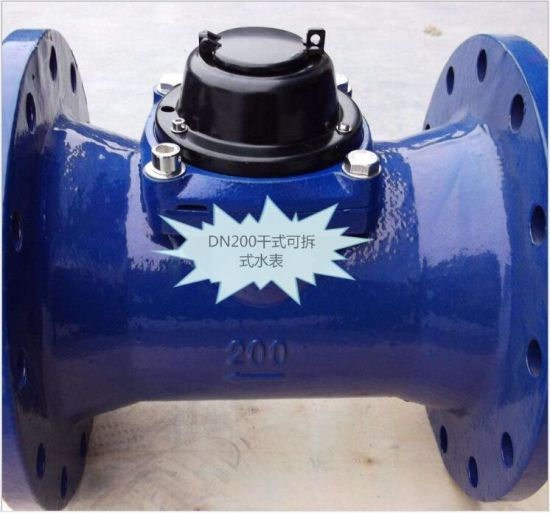 OEM/ODM Factory Lxlc-50-300  Removable Element Woltman Water Meter pictures & photos