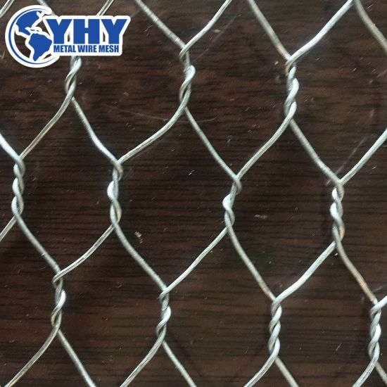 25mm 0.6m High Galvanized Hexagonal Chicken Wire Mesh for UK
