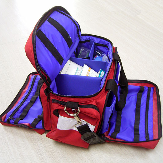 Personal Portable Outdoor Waterproof First Aid Kit for Family or Travel Emergency Medical Treatment