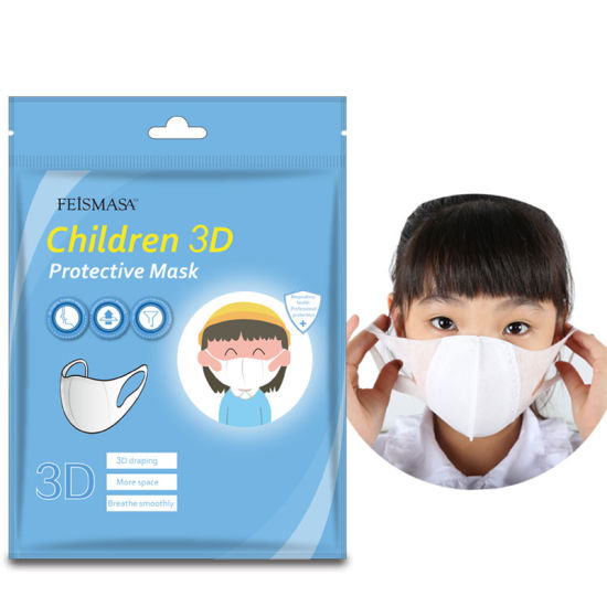 3D Fabric 3ply Earloop Disinfect Protective Mask for Baby Children