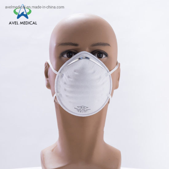 Cup Shape Dust Mask Air Pollution Valved Dust Masks FFP2/FFP3 4ply Nonwoven Face Mask with CE Certificate