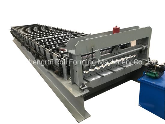 High Speed Colored Galvanized Steel Metal R Panel Profile Profile Roll Forming Machine
