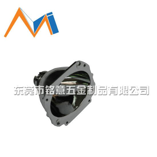 Chrome-Plating ADC12 Aluminum Die Casting for LED Lamp Cover