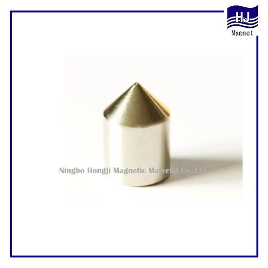 Special Cone Cylinder Neodymium Magnet Strong Magnetic Material for Industrial