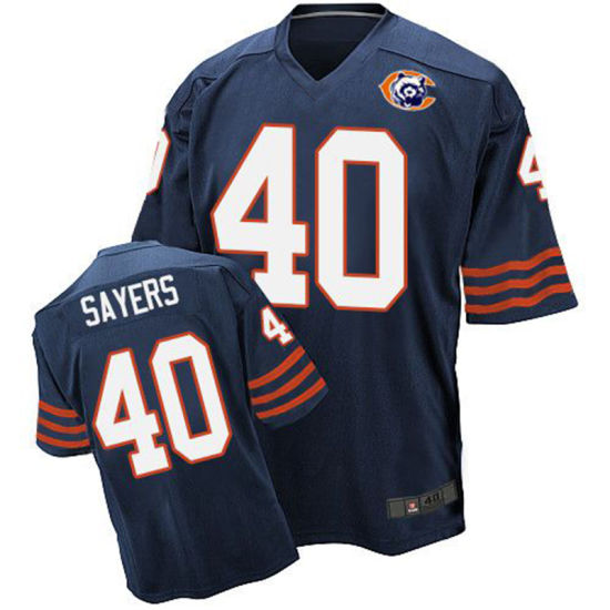 buy online 4e74f 60812 China Chicago Gale Sayers Walter Payton Roquan Smith ...