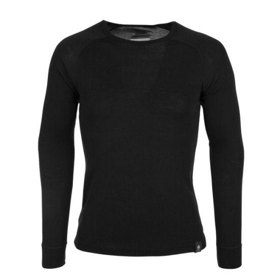 Wholesale Mens Winter Warmest Merino Wool Base Layers Best Long Sleeved Round Neck Thermals Tops Underwear